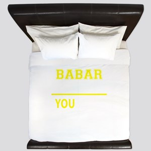 BABAR thing, you wouldn't understand! King Duvet