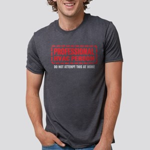 Professional HVAC Person Women's Dark T-Shirt
