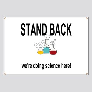 doing science here! Banner