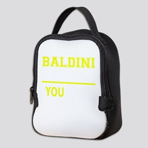 BALDINI thing, you wouldn't und Neoprene Lunch Bag