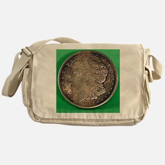 Funny Coin Messenger Bag