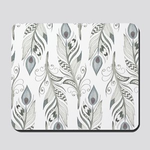 Beautiful Feathers Mousepad