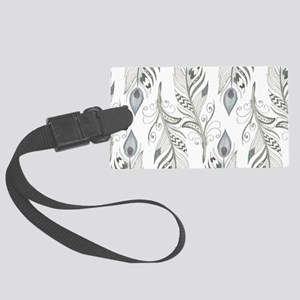 Beautiful Feathers Luggage Tag