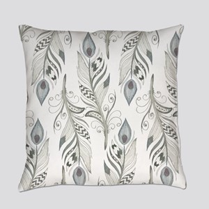 Beautiful Feathers Everyday Pillow