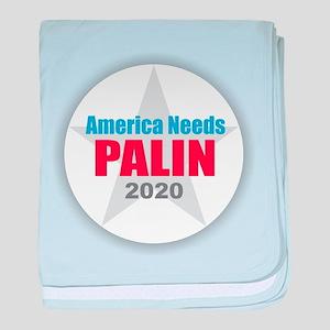 Sarah Palin 2020 baby blanket