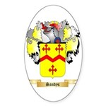 Sandys Sticker (Oval 50 pk)