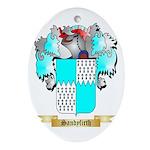 Sandyfirth Oval Ornament