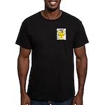 Sandy Men's Fitted T-Shirt (dark)