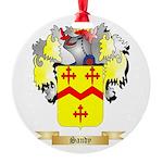 Sandy Round Ornament