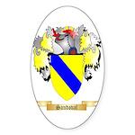 Sandoval Sticker (Oval)