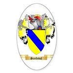 Sandoval Sticker (Oval 50 pk)