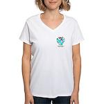 Sandiford Women's V-Neck T-Shirt