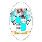 Sandiford Sticker (Oval 50 pk)