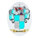 Sandford Oval Ornament