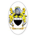 Sandbrook Sticker (Oval 50 pk)