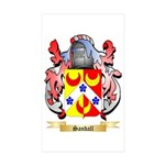 Sandall Sticker (Rectangle 50 pk)
