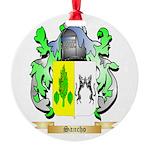 Sancho Round Ornament