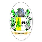 Sancho Sticker (Oval 10 pk)