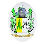 Sancho Oval Ornament