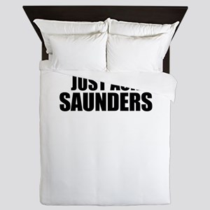 Just ask SAUNDERS Queen Duvet