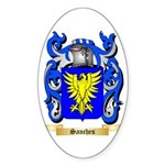 Sanches Sticker (Oval 50 pk)