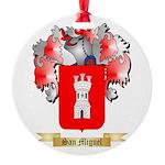 San Miguel Round Ornament