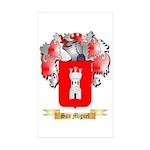 San Miguel Sticker (Rectangle 50 pk)