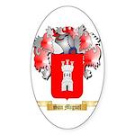 San Miguel Sticker (Oval 50 pk)