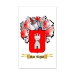 San Miguel 20x12 Wall Decal