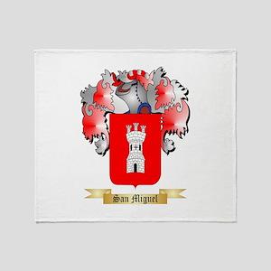 San Miguel Throw Blanket
