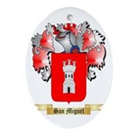 San Miguel Oval Ornament