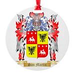 San Martin Round Ornament