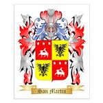 San Martin Small Poster