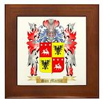 San Martin Framed Tile