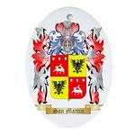 San Martin Oval Ornament