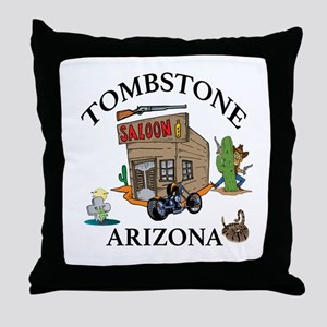 Tombstone, Arizona Throw Pillow