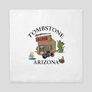 Tombstone, Arizona Queen Duvet