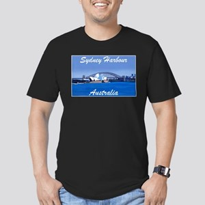 Sydney Harbour Painting Ash Grey T-Shirt