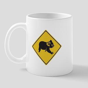 Attention Koalas, Australia Mug