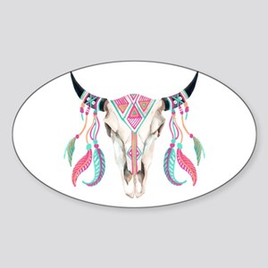 Buffalo Skull Sticker