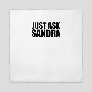Just ask SANDRA Queen Duvet