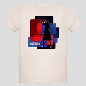 Agent Carter Squares Organic Kids T-Shirt