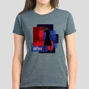 Agent Carter Squares Women's Dark T-Shirt