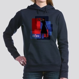 Agent Carter Squares Women's Hooded Sweatshirt