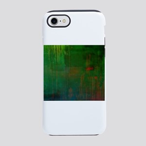 Forrest Green Stained Wood iPhone 8/7 Tough Case