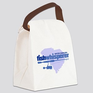 SC fishwhisperer Canvas Lunch Bag