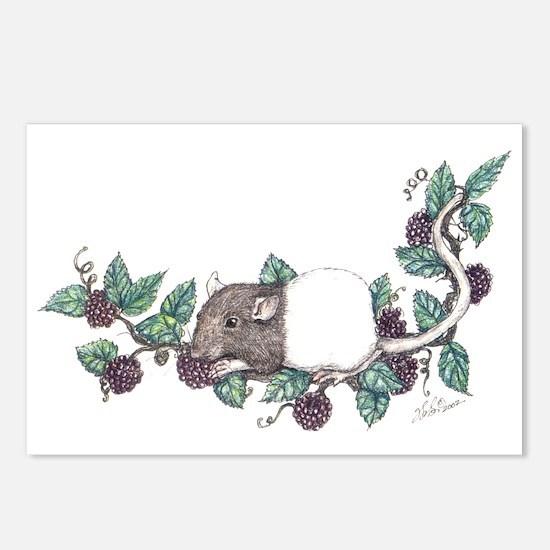 """""""Berries"""" Postcards (Package of 8)"""