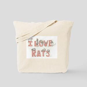 """""""Rats"""" Tote Bag"""