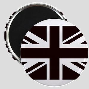 black union jack british flag Magnets