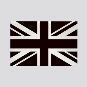 black union jack british flag Magnets